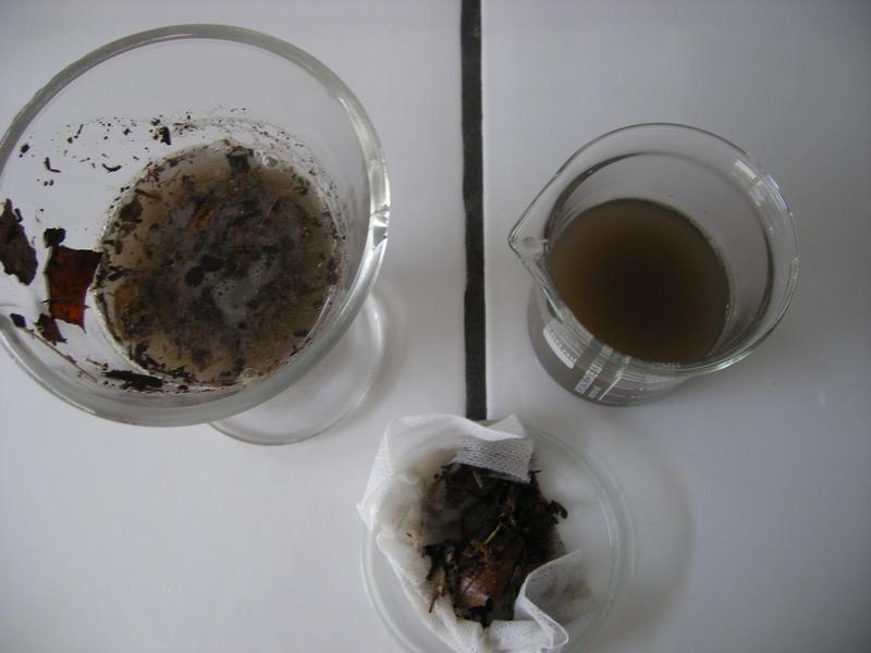 épuration avant et après 1ère filtration