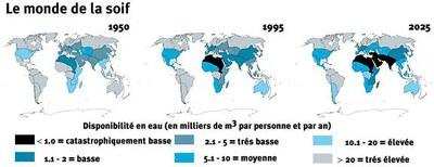 Le monde de la soif