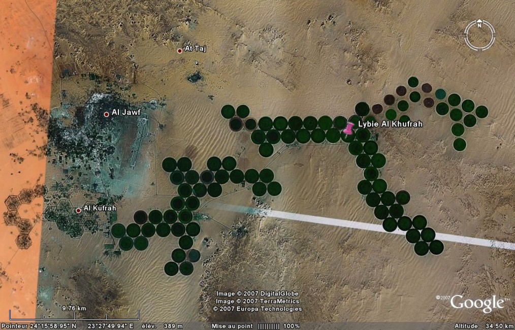 Cultures à Al Khufrah