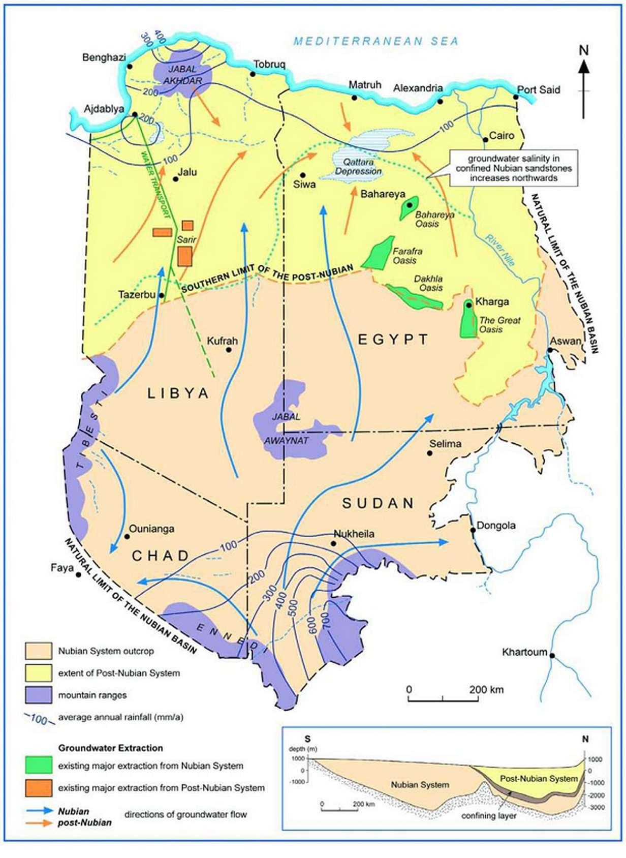 Carte aquifère