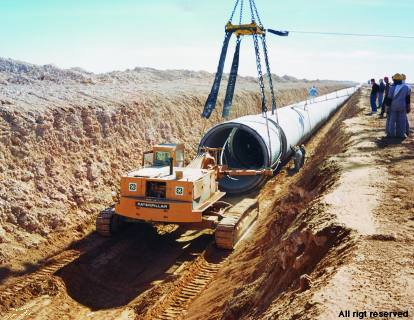 Installation tuyaux