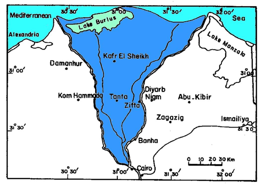 Aquifère du delta du Nil