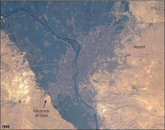 L'urbanisation delta en 1998
