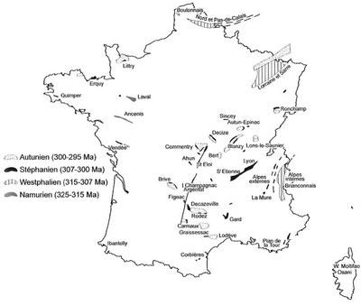 bassins houillers France