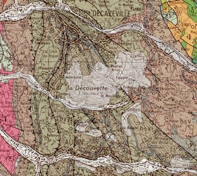 Decazeville géologie