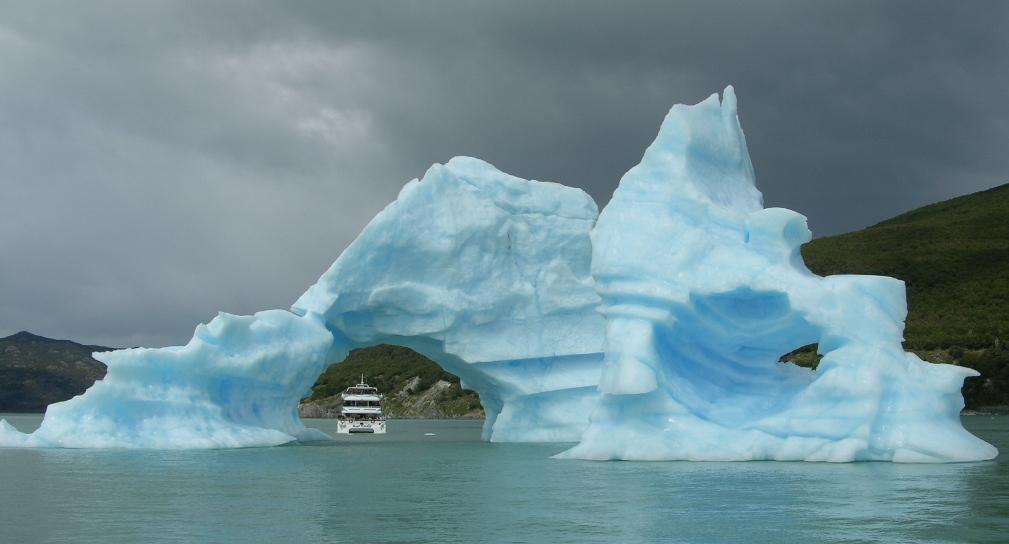 Bleue Glacier : Les glaciers upsala onelli bolado agassiz — eduterre